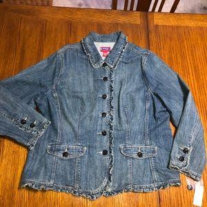 WESTPORT WOMAN vintage jean jacket 22/24